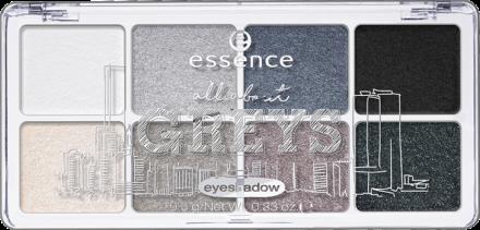 Тени для век All About Essence 04 greys: фото