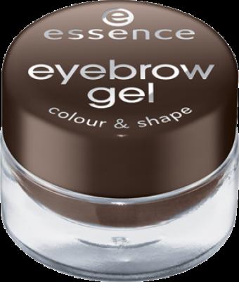 Оттеночный гель для бровей Eyebrow gel colour & shape Essence 01 brown: фото