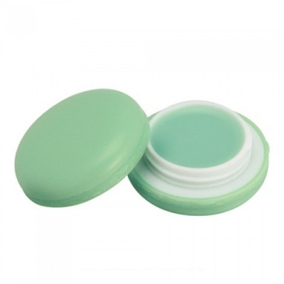 Бальзам для губ МакарунIt`s Skin Macaron Lip Balm Holika Holika, тон 02, зеленое яблоко: фото