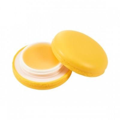 Бальзам для губ Макарун It`s Skin Macaron Lip Balm Holika Holika, тон 04, ананас: фото