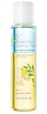 Средство для снятия макияжа с глаз и губ It's Skin Green Tea Calming LIp&Eye Cleansing Remover: фото
