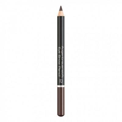 Карандаш для бровей Eye Brow Pencil Artdeco 2 intensive brown: фото
