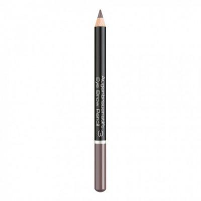 Карандаш для бровей Eye Brow Pencil Artdeco 3 soft brown: фото