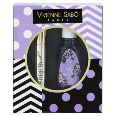 Подарочный набор Vivienne Sabo тушь Cabaret premiere т. 01+жидкость для снятия макияжа 2017: фото