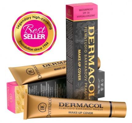 Тональный крем Dermacol make-up cover 222: фото