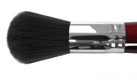 Кисть круглая для сухих и кремовых текстур с хромированной обоймой Roubloff FR20R: фото