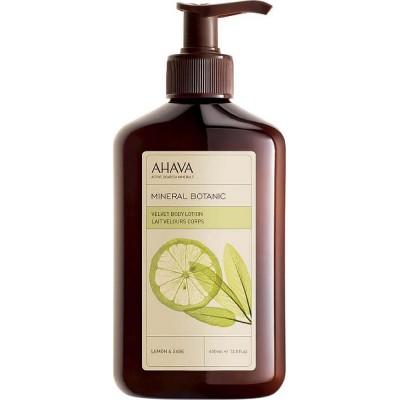 Бархатистый крем для тела лимон и шалфей Ahava Mineral Botanic 400 мл: фото