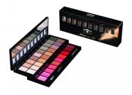 Палетка теней и помад Bronx Colors Makeup Set NUDE ON ME MS903: фото