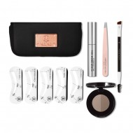 Набор для ухода за бровями Anastasia Beverly Hills 5-Element Brow Kit ABH01-57002 MEDIUM BROWN: фото