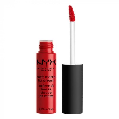 Жидкая помада NYX Professional Makeup Soft Matte Lip Cream AMSTERDAM 01: фото