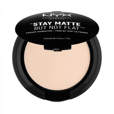 Пудра-основа NYX Professional Makeup Stay Matte But Not Flat Powder Foundation - ALABASTER 013: фото