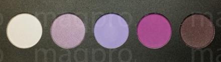 Компактные тени палитра Maq Pro fard sec.Фиалковая: фото