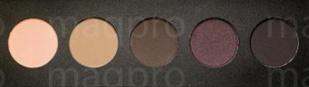 Компактные тени палитра Maq Pro fard sec. Смоки: фото