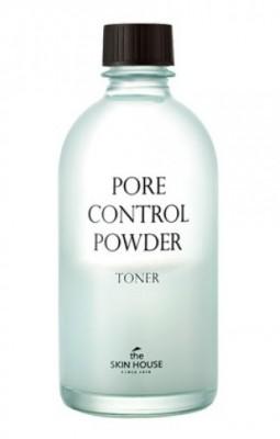Тоник с абсорбирующей пудрой «Пор контрол» THE SKIN HOUSE Pore control powder toner 130 мл: фото