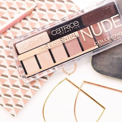 Тени для век CATRICE9в1 The Fresh Nude Collection Eyeshadow Palette 010 нюдовый: фото