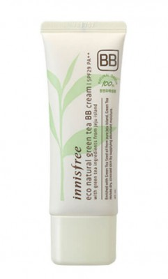 BB-крем с зеленым чаем INNISFREE Eco Natural Green Tea BB-Cream SPF29 №2 Natural Beige: фото