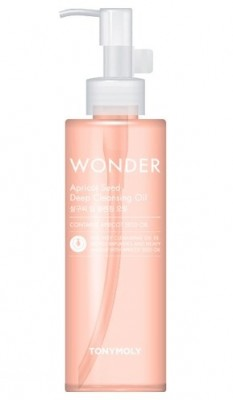 Гидрофильное масло TONY MOLY Wonder apricot deep cleansing oil 190 мл: фото