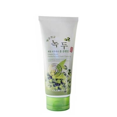 Пенка для умывания FoodaHolic Green Gram Gentle Refreshing Foam Cleansing, 180мл, FoodaHolic: фото