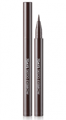 Подводка для бровей TONY MOLY 7Days perfect tattoo eye brow 04 Dark Brown 0,8 мл: фото