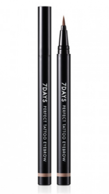 Подводка для бровей TONY MOLY 7Days perfect tattoo eye brow 03 Brown 0,8 мл: фото