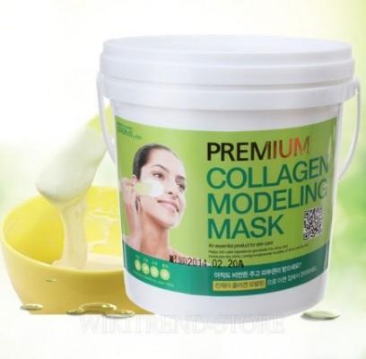 Альгинатная маска с коллагеном LINDSAY Premium collagen modeling mask pack 820г.: фото