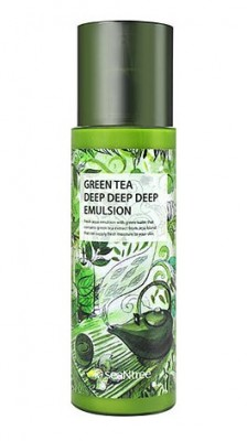Эмульсия для лица с экстрактом зеленого чая SEANTREE Green tea deep deep deep emulsion 180мл: фото
