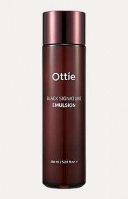 Премиальная эмульсия с муцином черной улитки OTTIE Black Signature Emulsion 150мл: фото