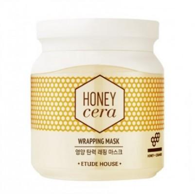 Маска на основе маточного молочка ETUDE HOUSE Honey Cera Wrapping Mask 100мл: фото