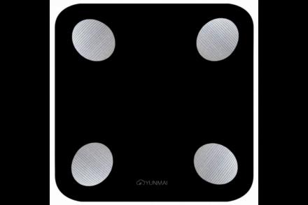 Умные весы YUNMAI balance, черные: фото