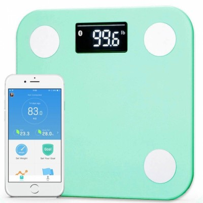 Умные весы YUNMAI mini, зеленые: фото