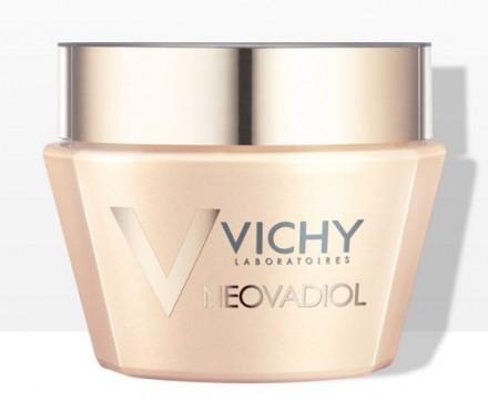 Компенсирующий комплекс крем-уход для кожи в период менопаузы для нормальной и комбинированной кожи VICHY Neovadiol 50 мл: фото
