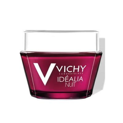 Ночной восстанавливающий бальзам-гель VICHY IDEALIA 50 мл: фото