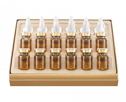 Сыворотка Золотое совершенство STEBLANC Gold perfection ampoule 7г*12: фото
