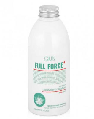 Шампунь увлажняющий против перхоти с экстрактом алоэ OLLIN Full Force 300мл: фото