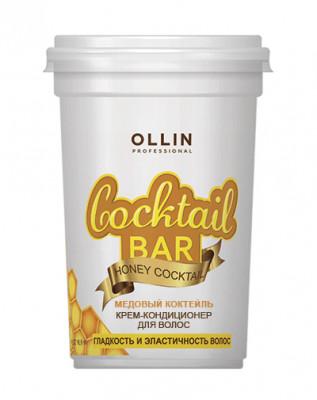 Крем-кондиционер для гладкости и эластичности волос OLLIN Cocktail Bar Медовый коктейль 500мл: фото