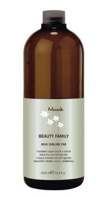 Маска для поврежденных волос NOOK Milk Sublime Ph4,7 1000 мл: фото