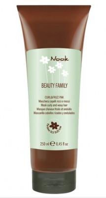 Маска для кудрявых волос NOOK Beauty Family Curl&Frizz Ph5,0 250мл: фото