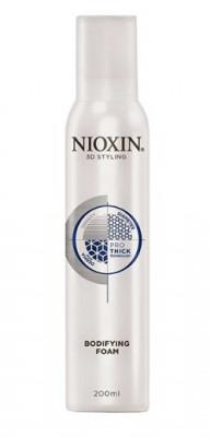 Мусс для объема подвижной фиксации NIOXIN 3D STYLING Bodifying Foam 200 мл: фото