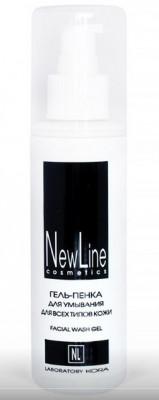 Гель-пенка для умывания для всех типов кожи NEW LINE 150мл: фото