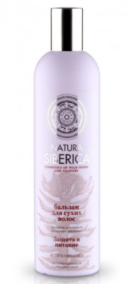 Бальзам для сухих волос Защита и питание Natura Siberica 400мл: фото
