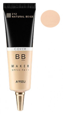 ВВ-крем маскирующий A'PIEU BB Maker SPF35/PA++ Cover/Natural Beige 20гр: фото
