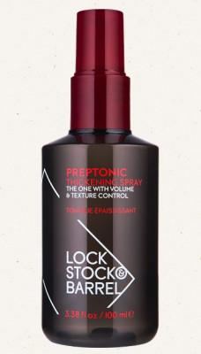 Спрей для укладки с эффектом утолщения волос Lock Stock&Barrel PREPTONIC 100мл: фото