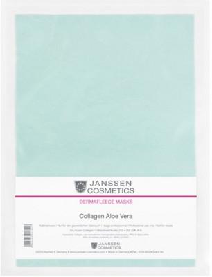 Коллагеновая биоматрица с алоэ Janssen Cosmetics Collagen Aloe 1лист: фото