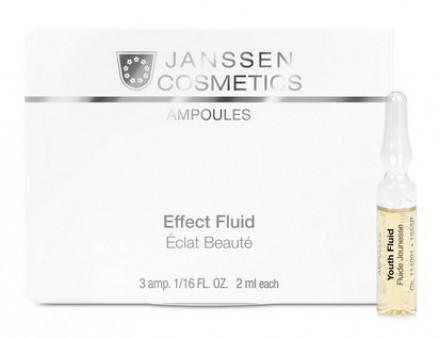 Сыворотка ревитализирующая в ампулах Janssen Cosmetics Youth Fluid 3*2мл: фото