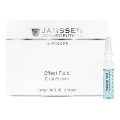 Сыворотка ультраувлажняющая с гилауроновой кислотой Janssen Cosmetics Hyaluron Fluid 7*2 мл: фото