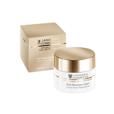 Крем обогащенный регенерирующий Janssen Cosmetics Rich Recovery Cream 50 мл: фото