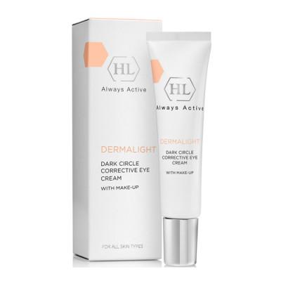 Крем корректирующий с тоном Holy Land Dermalight Dark Circle Corrective Eye Cream make-up 15мл: фото