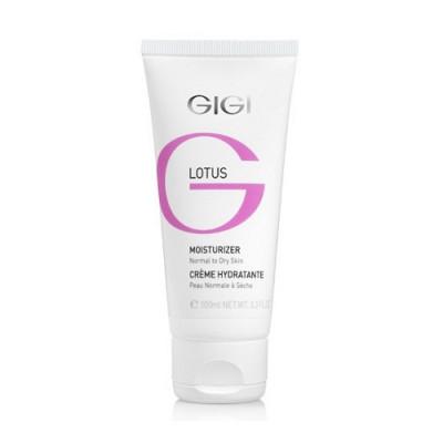 Крем увлажняющий для нормальной и сухой кожи GIGI Lotus Beauty Moist for dry skin 100 мл: фото