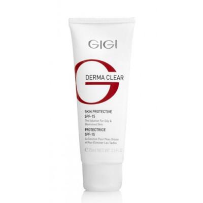 Крем увлажняющий защитный GIGI Derma Clear Cream Protective SPF15 75 мл: фото
