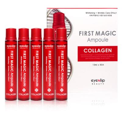 Ампулы для лица с коллагеном Eyenlip First Magic Ampoule Collagen 5*13мл: фото